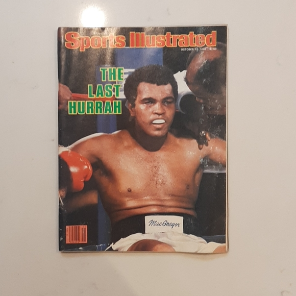 """""""Sports Illustrated October 13th, 1980- Muhammad A"""